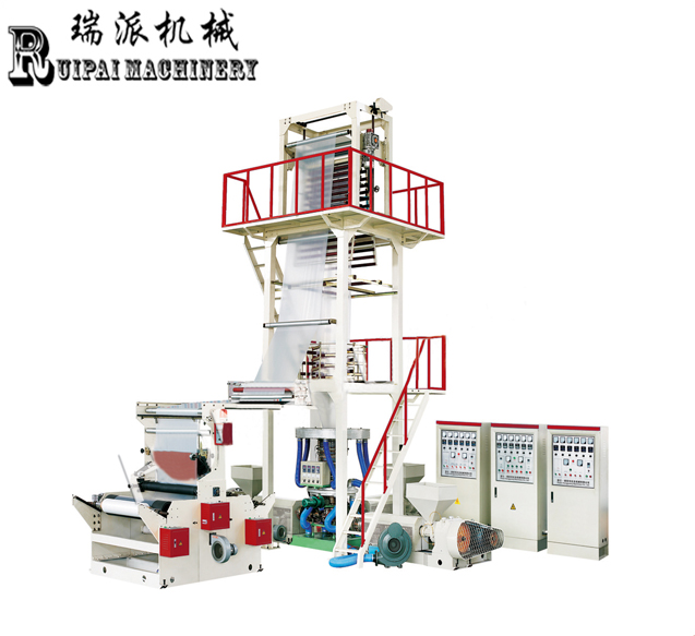 Rotary Die co-extrusion 3 layer film blowing machine