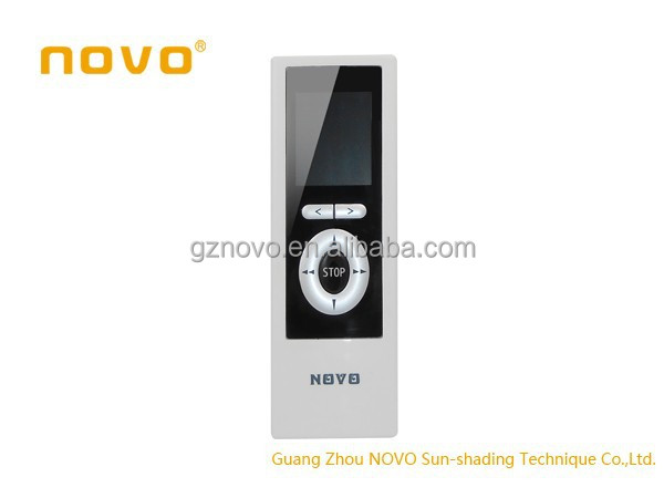 wireless curtain motor /roller blind touch screen/button fm broadcast transmitter for radio stations