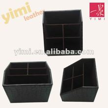 leather divided decorative cute storage boxe