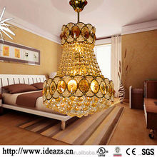 C98179 zhongshan crystal chandeliers, silver pendant light, crystal ball tea light holder