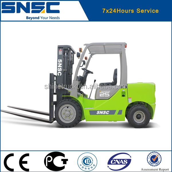 New Truck Prices of 2.5 Ton Diesel Forklift for Sale