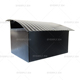 Yiwu letter box simple galvanized sheet mailbox