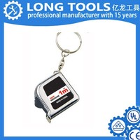 steel promotional tape measure, in plastic holder