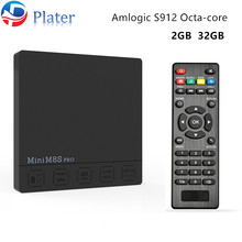 2gb ram 32gb rom 4K UHD amlogic S912 mini pc android 6.0 smart tv box