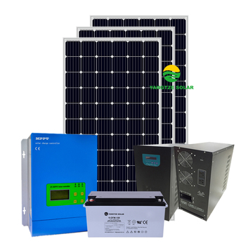 Free shipping energy 10kw solar panel complete system with battery