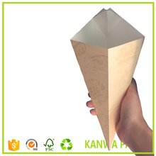custom printed french fries / potato chips paper cone