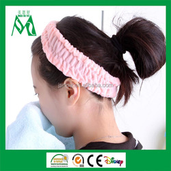 Shipping from china thicked makeup hair band towel