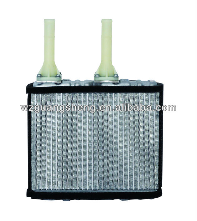 auto car aluminium radiator heater parts