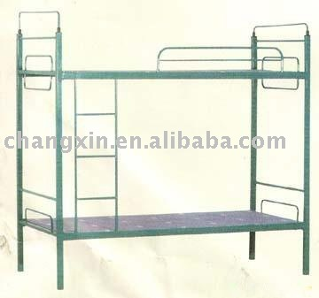 iron bed military bunk bed school dormitory bed strong CX-QY-016