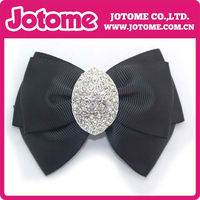 Fashion Bow Crystal Fabric Shoe Buckle Wholesale Shoe Accessories