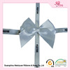 White satin ribbon bows with ribbon loop for wedding, wedding satin ribbon bows