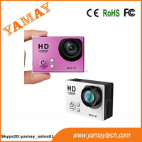 wifi camera sport dv 1080P H.264 full HD sports cam with 2 inch LCD screen