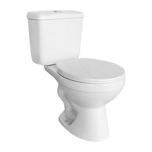 Cheap S-Trap Two Piece Bathroom WC White Color Toilet