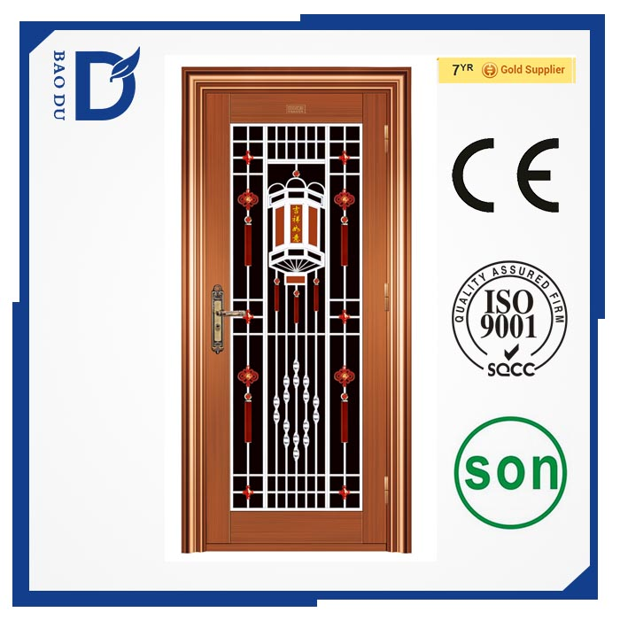 Alibaba new model stainless steel door design ready made stainless steel door for apartment cheap fire rated doors