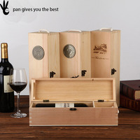 Pan art minds wood crafts wholesale wooden wine crates