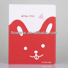 FL2888 2013 Guangzhou new arrival stand cute animal cell phone case for ipad 3