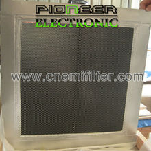 300x600mm, steel EMI Honeycomb filter for shielding room with EMC box shield 3d honeycomb
