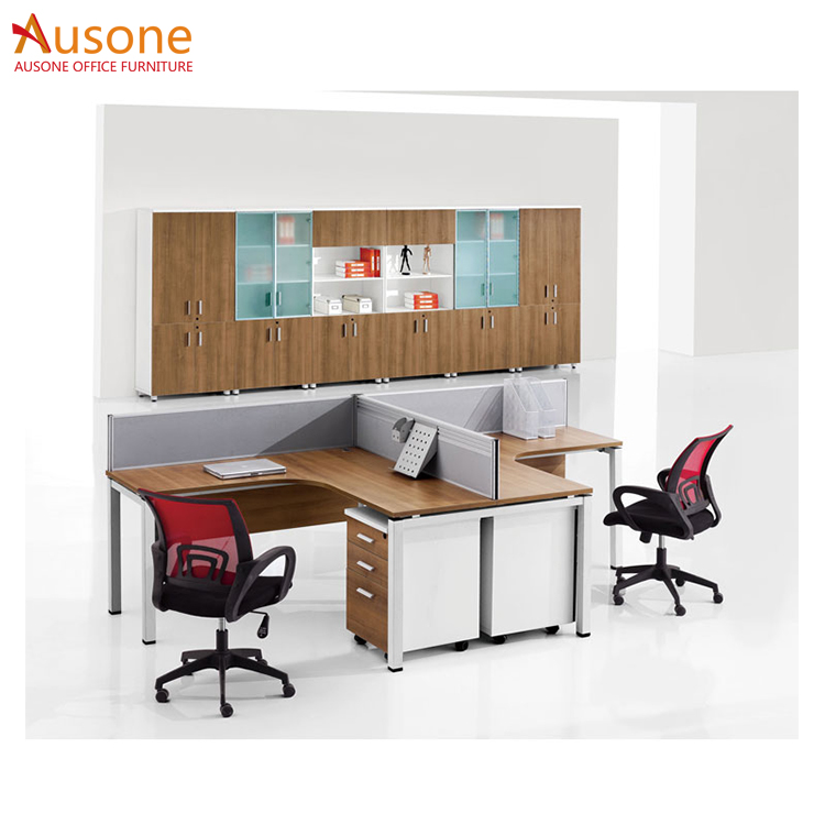 office furniture 4 person metal office table frame