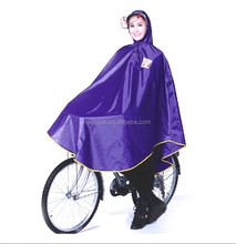190T polyester ponch0/bicycle poncho