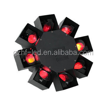 8 claws LED Eight Scan Center DJ effect Lighting