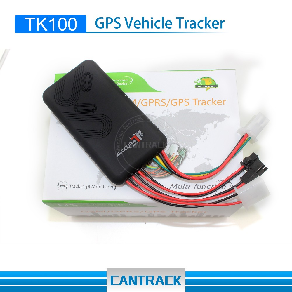 TK100 GT06 SOS alarm 2-way calling Diable Engine GPS Locator Smart Car GPS Tracker