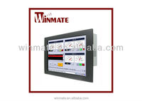 Winmate 19 inch with Mini-ITX Form Factor Suport Embedded 8 / 7 Industrial Panel Mount Panel PC