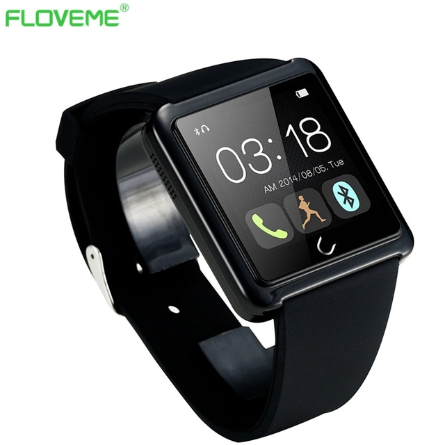 Bluetooth Smart Watch Support Android IOS Call & Answer Watch Phone Synchronize WeChat Facebook Message Waterproof Music Player