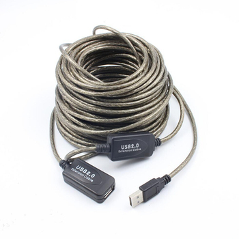 15m USB 2.0 Active Extension cable Male to Male Extension Cable Cord with booster