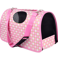 Custom dismountable fashion fabric pet dog carrier for car