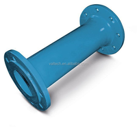 Sand Casting Ductile Iron Pipe Fitting double flange cast pipe