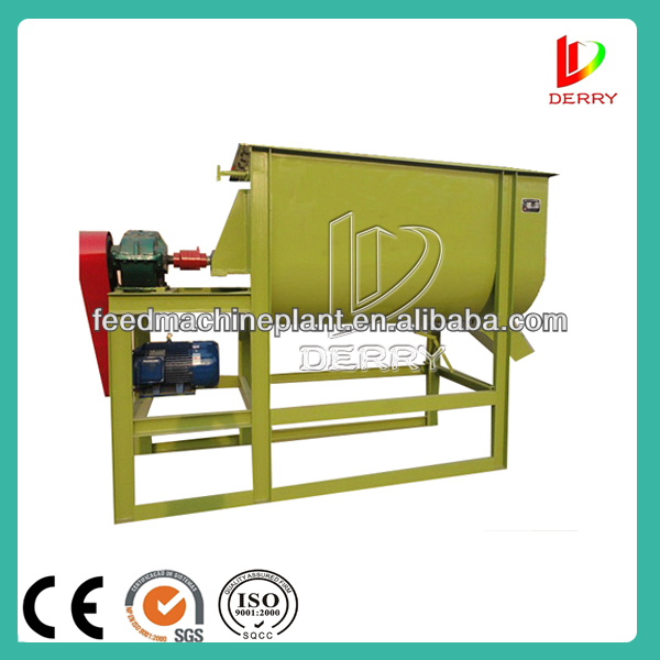 2013 Hot Sale Small Screw Ribbon Blender for Animal Feed with SGS