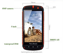 factory stock wateproof rugged smart phone 5 inch CDMA+GSM 150PCS IN STOCK