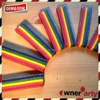 Multi Colors bath crayons and rainbow crayon