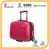 NEW HOT sell 17inch trolley travel bag /abs+pc fashionable trolley suitcase