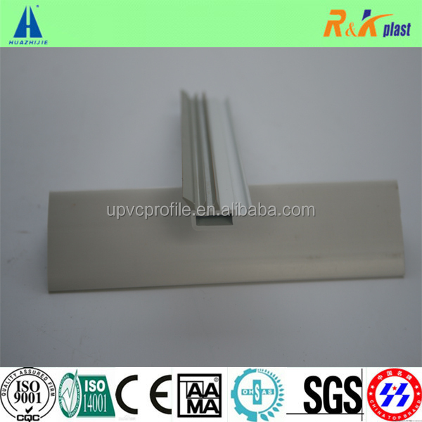 60 casement series Coextrusion rubber strip upvc profile for glazing bead