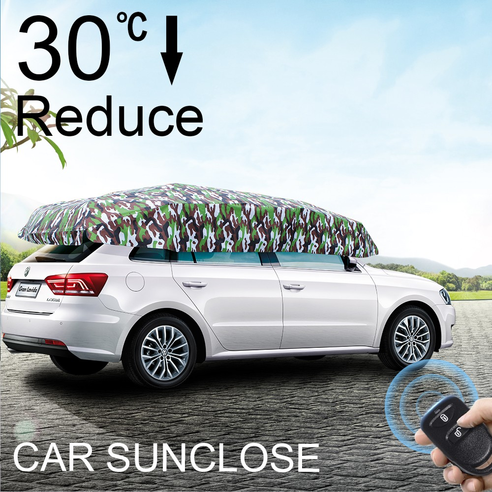 SUNCLOSE Factory durable water proof magnetic car winter front winodows cover frost protection deicing automatic flood car shade