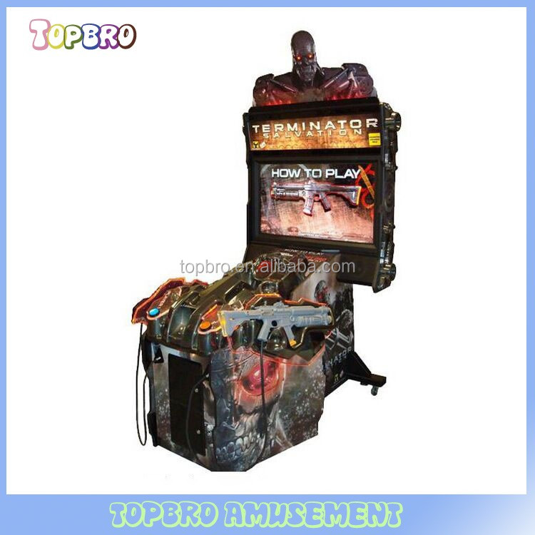 Arcade shooting gun shooting game machine Terminator Salvation