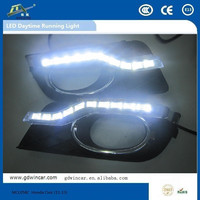 high quality led lamp for Honda Civic 11-13 Fashion style daylight car led daytime running light