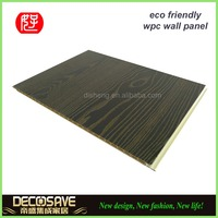 high quality wpc panel / interior decoration materials / plastic wood composite sheet