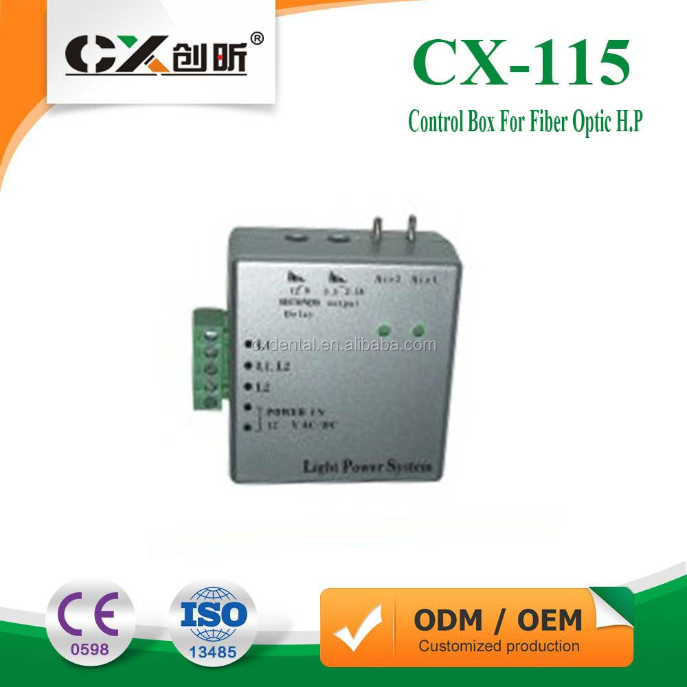 Dental Chairs Spare Parts Control Box For Fiber Optic Handpiece For Dental Unit Chair CX-115