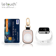 Mobile phone accessories smartphone wireless power bank keyring charger charge bank for apple watch
