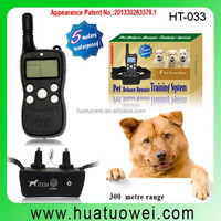 Collar With LCD Display For Dog Waterproof Remote Dog Electric Training Bark Stop Collar