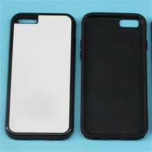 JESOY For iPhone 4 5 6 Sublimation Phone Case Blank Silicone Rubber Case, Jual Case Sublimasi 2d
