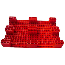 heavy duty shipping plastic pallets for sale red