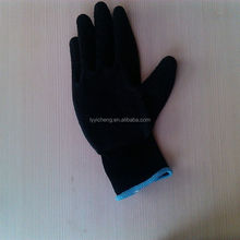 latex coated work glove/king latex gloves