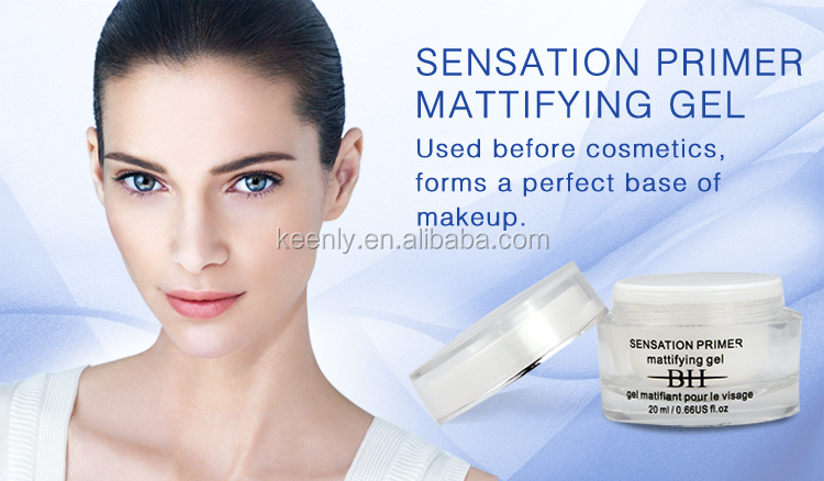 Long lasting anti-pores/fine lines sensation foundation primer mattifying gel for very dry skin