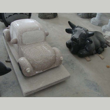 Moder Granite Artwork Car Carving Stone Statue