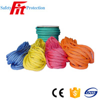 high break double braided industrial nylon rope