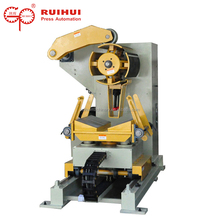 Motorized hydraulic steel coiling uncoiler decoiler machine