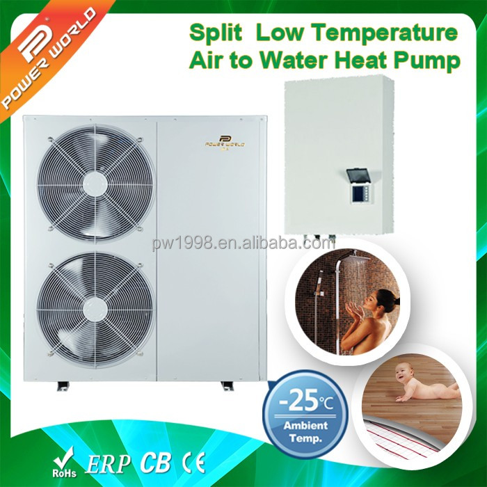18kw Easy installation durable air source EVI split heat pump